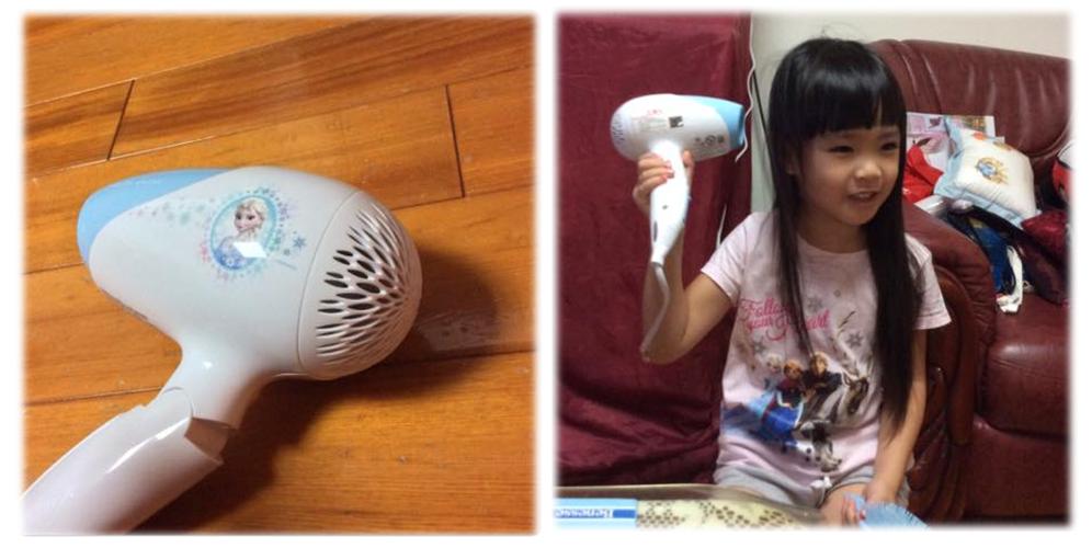 喵媽用心介紹 Philips兒童專用負離子吹風機