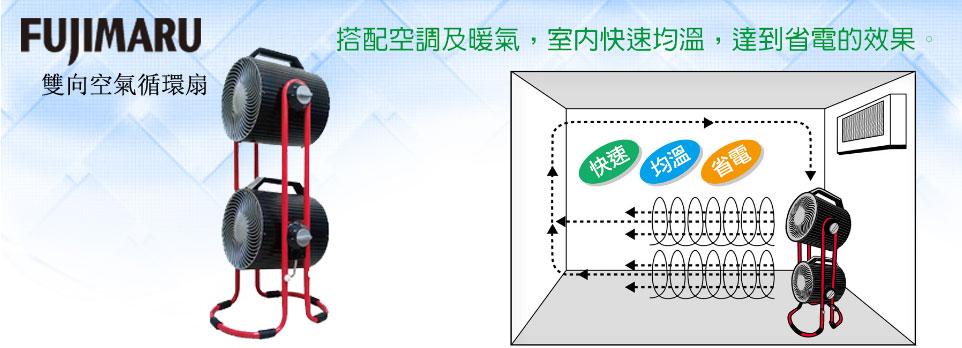 Fujimaru 雙渦輪循環扇
