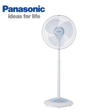 [福利品] Panasonic 16吋薄型電扇(粉彩藍)