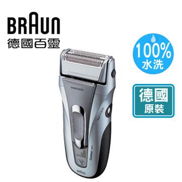【全自動洗淨系統、讓刮鬍刀更貼面】德國百靈鋒馳獵鬍電鬍刀 5887(5887)