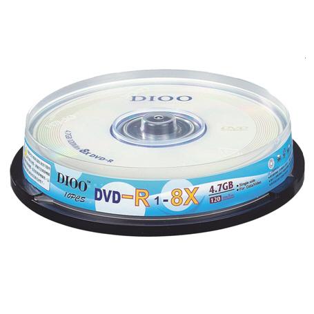 中環 8X DVD-R/10片桶裝