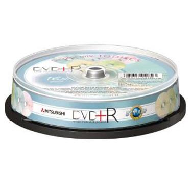 三菱 16X 五色櫻花 DVD+R 10片桶裝