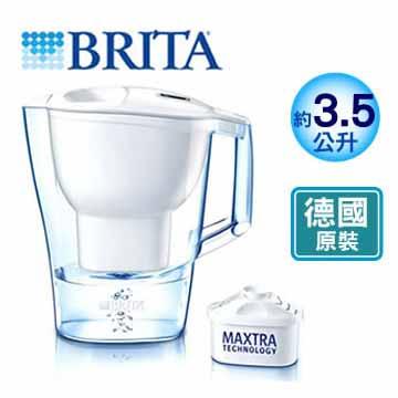 德國 BRITA 愛奴娜 ALUNA XL 型濾水壺(白色)