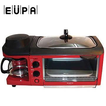 [展示福利品]-EUPA 三合一烤箱咖啡組