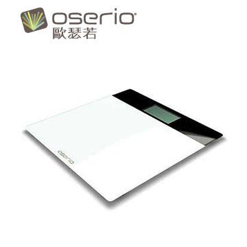oserio超薄玻璃體重計