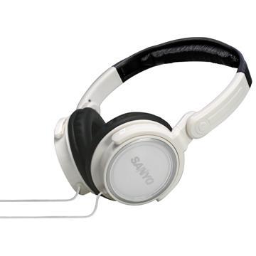 三洋頭戴式折疊耳機