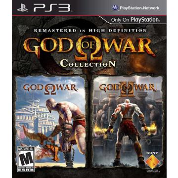 PS3-戰神1+2合集藍光重製版