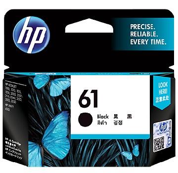 HP 61號黑色墨水匣CH561WA