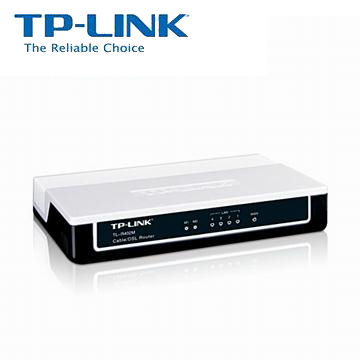 TP-LINK 4Port 寬頻IP 分享器