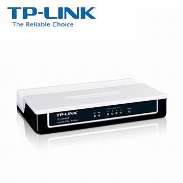 TP-LINK 4Port 寬頻IP 分享器(TL-R402M)