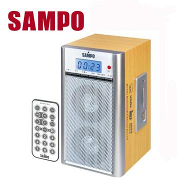 [福利品] 聲寶USB/MP3/SD隨身音響  AK-W1010UL