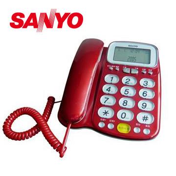 三洋助聽功能有線電話TEL-986