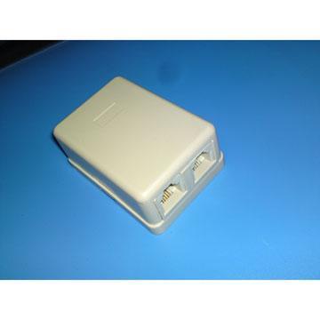 MIPA 美式4芯電話接線盒CY-TA021