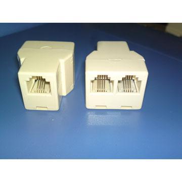 MIPA 美式4芯電話線連接頭CY-TA013