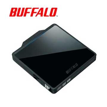 BUFFALO W型收納DVD外接式燒錄器(黑)