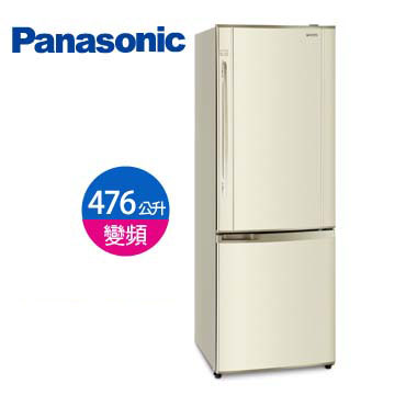 Panasonic 476公升上冷藏雙門變頻冰箱