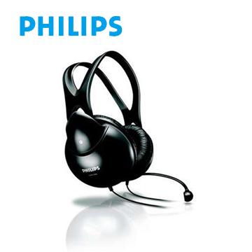 PHILIPS 頭戴式耳機麥克風