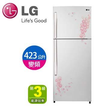 LG 423公升雙門線性變頻冰箱(GN-L562NP)