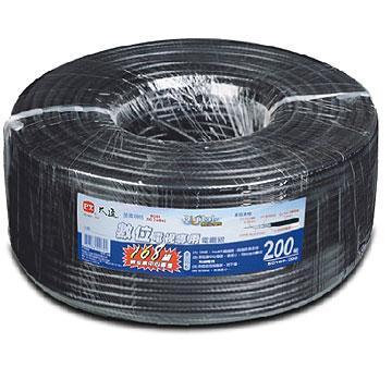 大通168編織電視專用電纜線200米