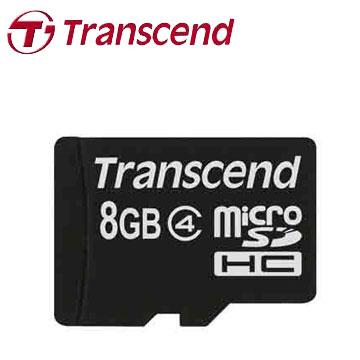 創見MicroSDHC 8GB C4記憶卡