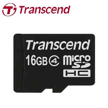 創見MicroSDHC 16GB C4記憶卡