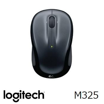 羅技 無線滑鼠M325-黑(910-002153)