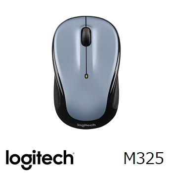 羅技 無線滑鼠M325-銀(910-002321)