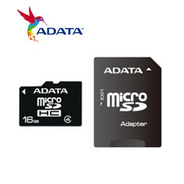 威剛 Micro SD 記憶卡16G C4