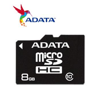 威剛 Micro SD 記憶卡8G C10