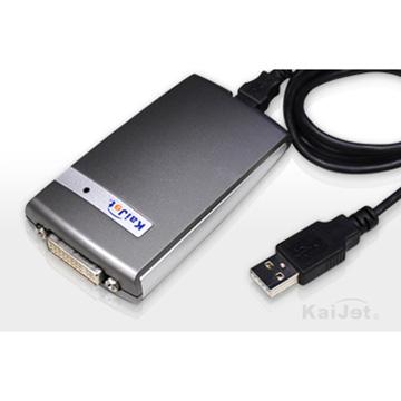 凱捷 KA8203 DVI外接式顯示卡