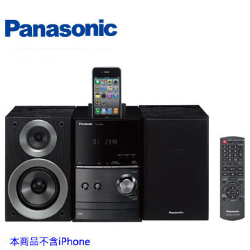 Panasonic IPod/USB組合音響 SC-PM500-K(黑色)