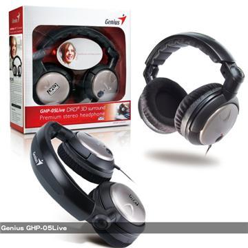 Genius 環繞優質頭戴式耳機