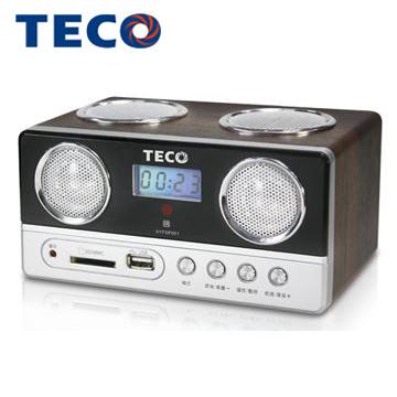 東元USB/SD/MP3/FM隨身音響  XYFSP001