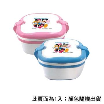 米妮米奇雙色便當盒(1件) S-8800A(粉/藍)