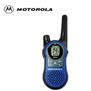 [福利品] MOTOROLA超長距離無線對講機 SX601