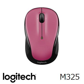 羅技 無線滑鼠M325-玫瑰(910-002390)