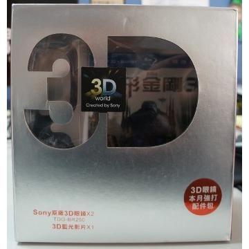 SONY BRAVIA 3D配件盒-變形金剛3