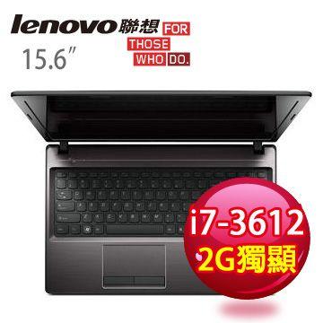 LENOVO 三代i7四核2G獨顯筆電(G580a 59334599)