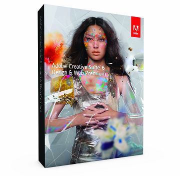 Adobe CS6 Design & Web Prem(中英混合版)