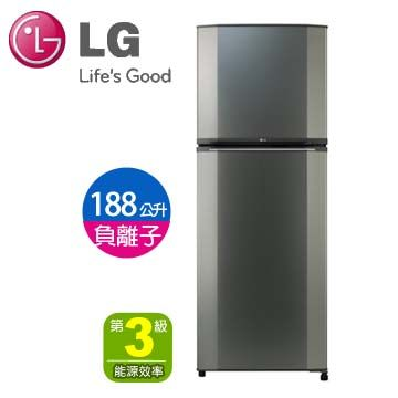 LG 188公升負離子雙門鮮活環保冰箱