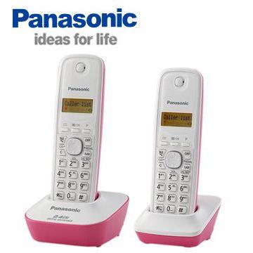 [福利品] Panasonic 2.4G數位高頻雙手機無線電話 KX-TG3412