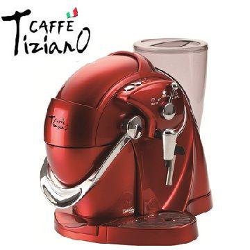 Caffe Tiziano義式膠囊咖啡機(紅)
