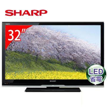 SHARP 32型LED液晶電視  LC-32LE345T(LC-32LE345T)