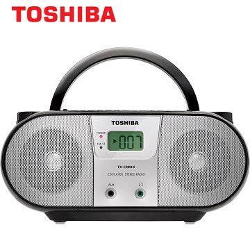 [福利品]東芝MP3手提CD音響 TX-CRM10TW