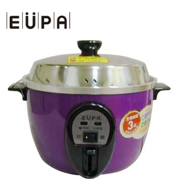 EUPA 6人份不銹鋼電鍋