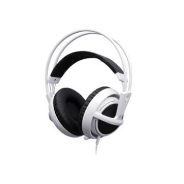 SteelSeries V2 電競專用耳機麥克風-無暇白