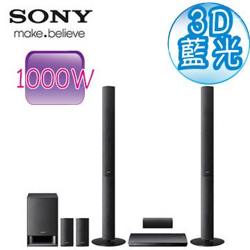 [福利品] SONY 3D藍光家庭劇院 BDV-E490