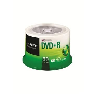 SONY 16X DVD+R/50片桶裝