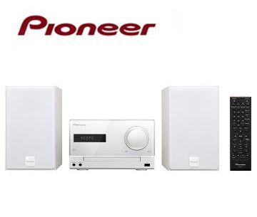[福利品]Pioneer 3i/USB 組合音響 X-CM31-W