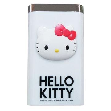 Hello Kitty 7800mAh移動電源-白